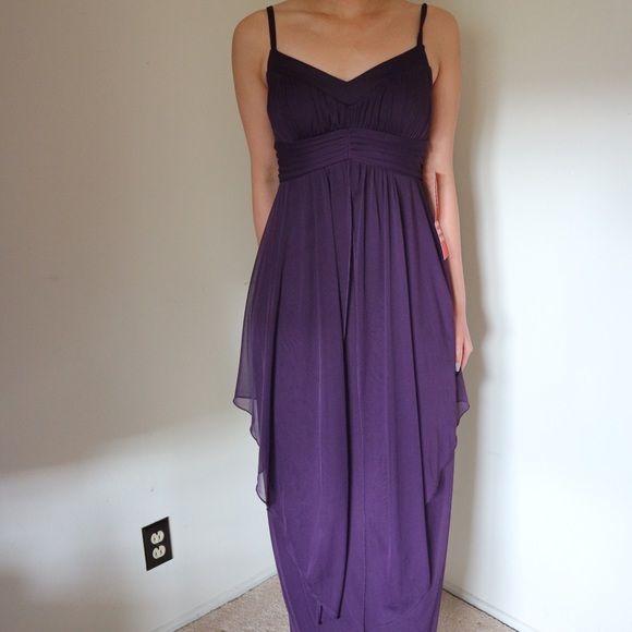 undefined Dresses | Nwt Royal Purple Evening Gown | Poshmark